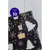10 Trees and Parcels Gift Tags