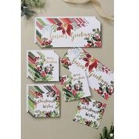 18 Floral Trio Cards