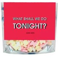 What Shall We Do Tonight Letters
