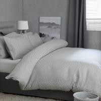 Geo Cotton Rich Jacquard Duvet Set