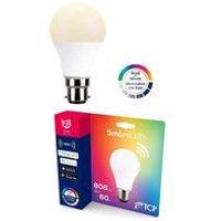 TCP Smart WI-FI 60W Dimmable Colour RGB Light Bulb