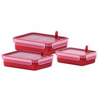 Tefal Masterseal Microwave Food Container 3-Piece Set