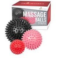 Proworks Set of 3 Spiky Massage Balls