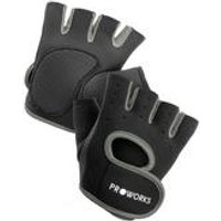 Proworks Ladies Black/Grey Gym Gloves