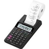 Casio Compact 12 Digit Display Printing Calculator