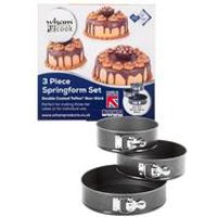 Wham Cook Teflon Select 3-Piece Springform Bake Set