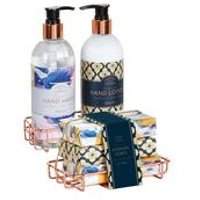 Peartree Scented Soaps and Hand Cream Caddy