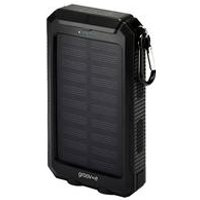 Groov-e Portable Solar Charger 8000mAh with Dual USB