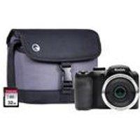 Kodak Pixpro Astro Zoom Bridge Camera with 32GB SD and Case