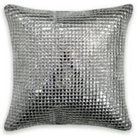 Square Crystal Filled Cushion