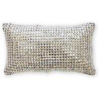 Square Diamond Filled Cushion
