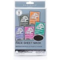 Danielle Creations Pack of 5 Variety Face Masks