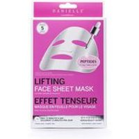 Danielle Creations Pack of 5 Peptide Lifting Face Masks