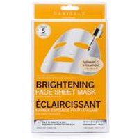 Danielle Creations Pack of 5 Brightening Face Masks