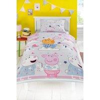 Peppa Pig Sleepy Single Duvet Set