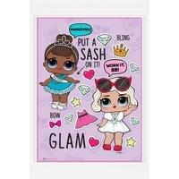 L.O.L Surprise Glam Framed Print