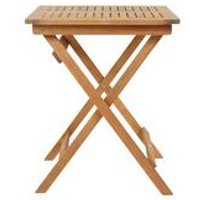 Wooden Eucalyptus Square Foldable Table