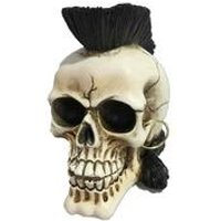 Punks Not Dead Skull Figurine