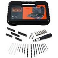 Black and Decker 120-Piece Drill and Screw Set