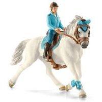 Schleich Horse Club Tournament Rider with Horse Toy Figure