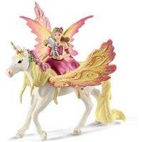 Schleich Bayala Fairy Feya with Pegasus Unicorn Toy Figure