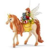 Schleich Bayala Fairy Marween with Glitter Unicorn Toy Figure