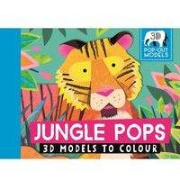Jungle Pops 3D Models To Colour