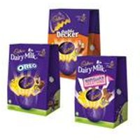 Cadbury Chocolate Large Easter Egg Collection
