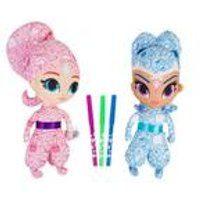 Shimmer and Shine Deluxe Colour Me Friends Duo