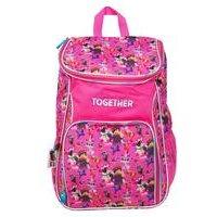 Lego Movie 2 - Large Pink AOP Multipanel Backpack