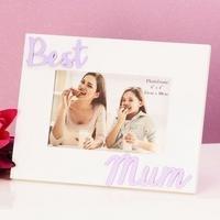 Photo Frame Best Mum 3D Letters