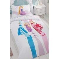 Disney Princess Ribbons Single Reversible Duvet Set