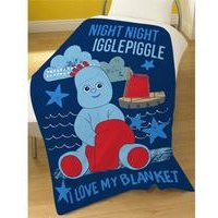 Night Night Iggle Fleece Blanket - In The Night Garden