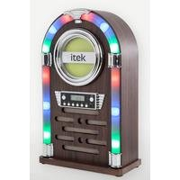 iTek Bluetooth Jukebox with CD Player and FM Radio