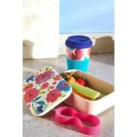 Cambridge Bamboo Posy Lunch Box and Cup Set
