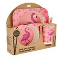 Flamingo - Bamboo 5 Piece Dinner Set