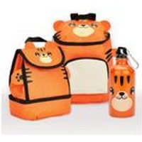 Baby Animal Tiger Backpack and Lunch Bag Set