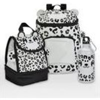 Baby Animal Snow Leopard Backpack and Lunch Bag Set