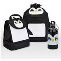 Baby Animal Penguin Backpack and Lunch Bag Set