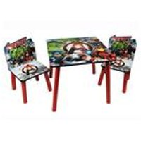Avengers Wooden Table and Chair Set