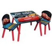 Cars 3 Wooden Table and Chair Set