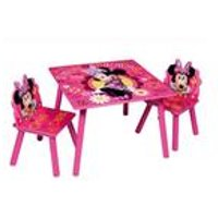 Minnie Wooden Table and Chair Set