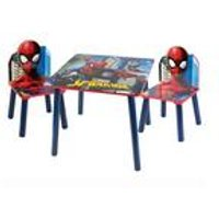 Spider-Man Wooden Table and Chair Set