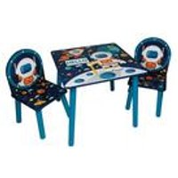 Space Wooden Table and Chair Set