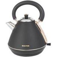 Salter Rose Gold Pyramid Kettle