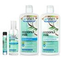 Natural World 4-Piece Coconut Oil Hair Oil Set