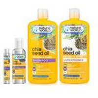 Natural World 4-Piece Chia Seed Hair Set