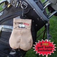 It Takes Balls To Golf Bag