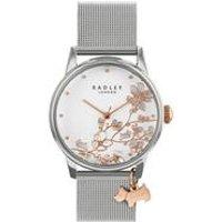 Radley Linear Flowers Mesh Watch