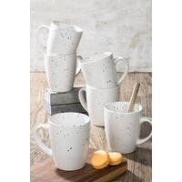 Set of 6 Spray Speckle 12oz Mugs